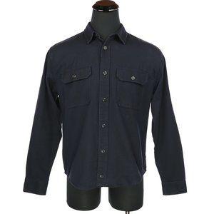 Filson Thick Long Sleeve Jac-Shirt Navy Medium